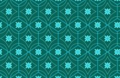 Seamless Floral Pattern For Illustrator