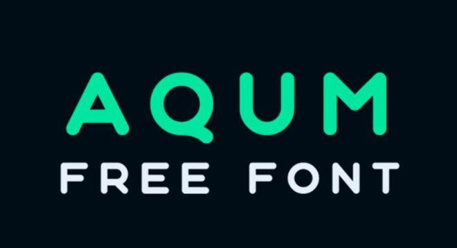 Aqum Typeface