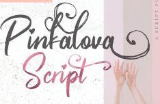 Pinkalova Brush & Script Font