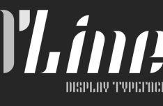 O'Line Modern Font