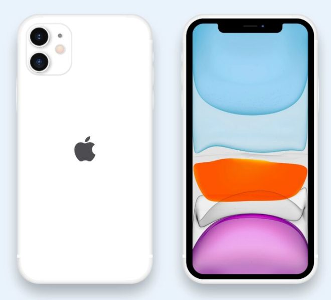 Simple iPhone 11 Pro Mockup For Adobe XD