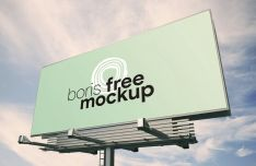 Giant Billboard PSD Mockup