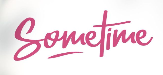 Sometime Handwritten Display Font