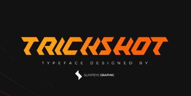 TrickShot Typeface