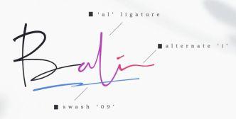 Galinta Script Font