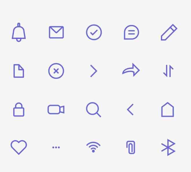20 Minimal Clean Stroke Icons (AI+AEP)