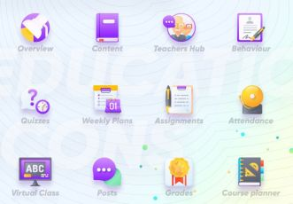 12 Education Icons For Sketch