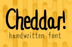 Cheddar Handwritten Font
