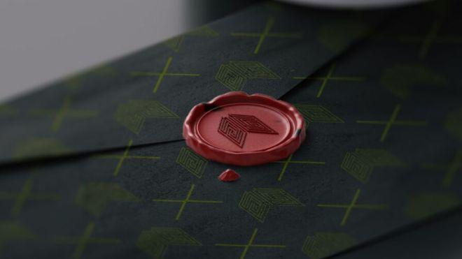 Retro Envelope & Wax Stamp PSD Mockup