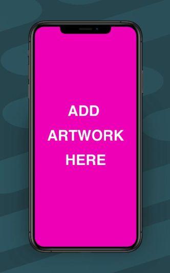 Standard iPhone XR Mockup (Adobe XD)