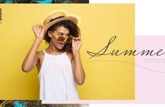 Fashion Lookbook Vector Template