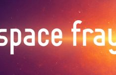 Space Fray Futuristic Font