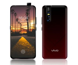 vivo V15 Pro Android Smartphone Mockup