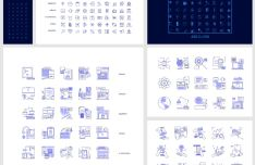 200+ IT Line Icons Pack (Figma)