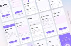 Freelance Platform Mobile App UI Design For Sketch