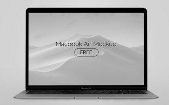 MacBook Air 2020 PSD Mockup