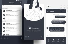 Android Messaging App Design For Figma