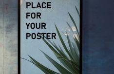 HD Poster Frame PSD Mockup