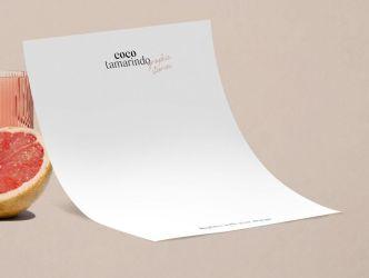 Minimalist A4 Letter Mockup PSD