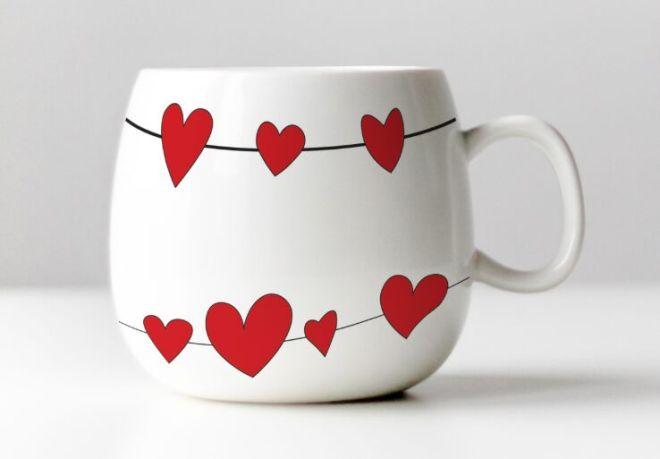 Sweet Cup PSD Mockup