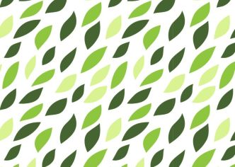 Nature Green Plant Vector Pattern