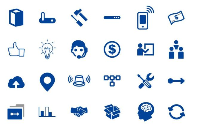 50+ Finance and Banking Icons Vector