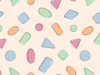Handrawn Candy Pattern Vector