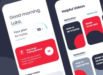 Daily Productivity App UI Design