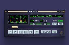 Winamp Classic UI For Figma