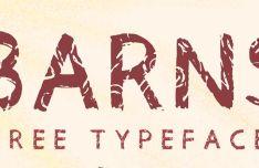 Barns Font