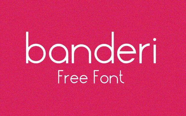 Banderi Display Font
