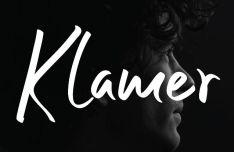 Klamer Handwriten Font