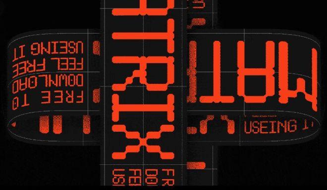 LL Black Matrix Font