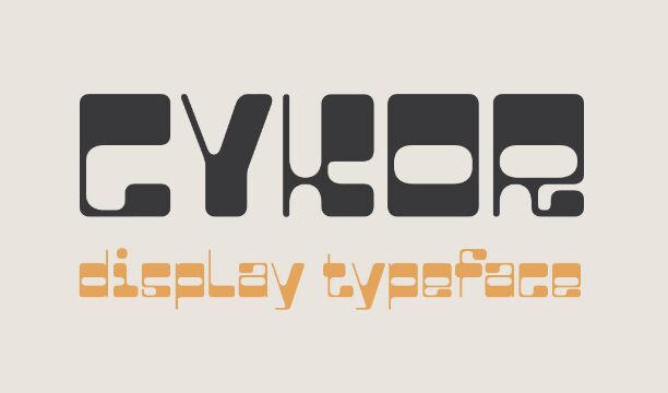 CYKOR Display Font