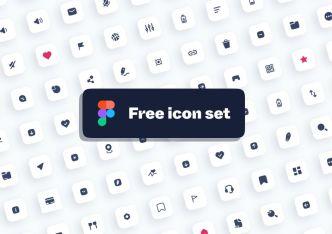 100 Modern UI Icons Figma