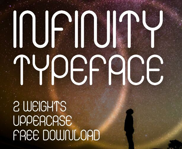 Infinity Typeface Display Font