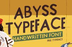Abyss Handwritten Font