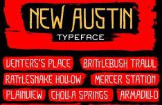 New Austin Font