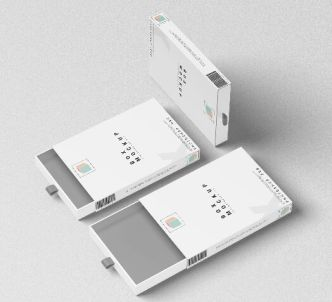Rectangular Packing Box PSD Mockup