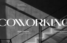 Coworking Typeface