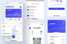 Spend & Invest Cash Mobile UI