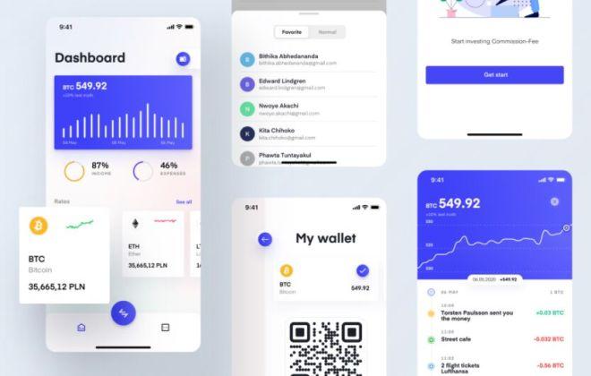 Spend & Invest Cash Mobile UI