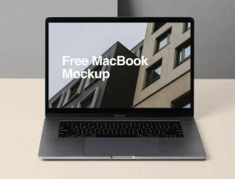 Editable Customizable MacBook Pro Figma Template