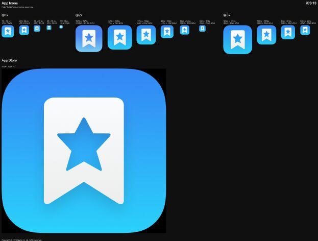 Big Sur Style iOS App Icon Template Figma