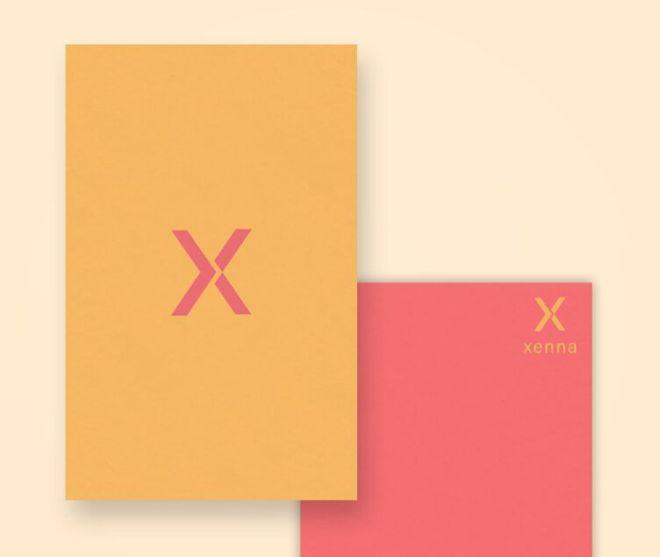 Minimal Modern Vertical Business Card PSD Mockup