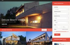 Centrum Real Estate Web Template PSD