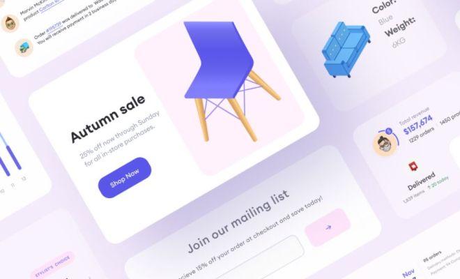 Professional E-commerce UI Components For Figma