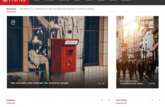 News & Magazine Blog Templates PSD
