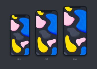 Dark & Light iPhone 12 Mockups For Figma