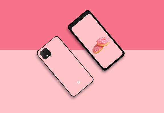 Google Pixel 4 XL PSD & Vector Templates